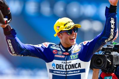 Di Giannantonio wins dramatic Moto3™ race