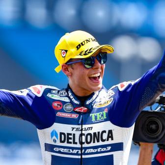 Di Giannantonio gewinnt dramatische Moto3™ Schlacht