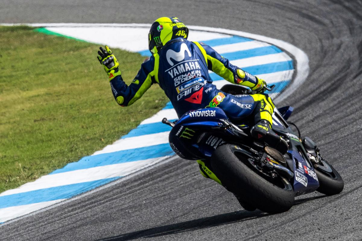 Rossi This Weekend We Improved A Lot Motogp