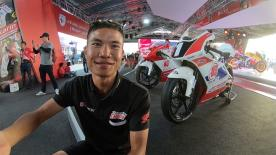 Spend the weekend with the Thai rider as he travels to the circuit, meets the fans and prepares to race at the Chang International Circuit