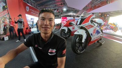 Live the Thai GP with 'Chip' Atiratphuvapat and GoPro?