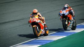 What makes the Honda vs Ducati last lap battles so thrilling? The riders review Austria & Japan 2017 and Qatar & Thailand 2018