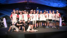 Tras la primera semifinal de los eSports, los gamers dedicaron su tiempo a enseñar a los pilotos de la Red Bull Rookies a jugar a MotoGP18