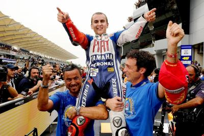 FREE race: Jorge Lorenzo's first premier class crown