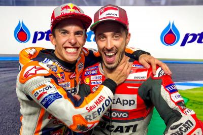 Marquez on the comeback: Dovi 3 - Marquez 1