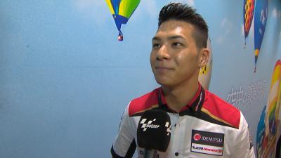 Las primeras palabras de Nakagami tras renovar con LCR Honda