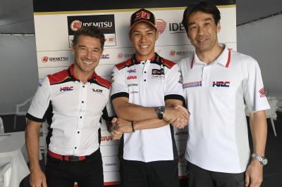 Nakagami renueva con el LCR Honda para 2019