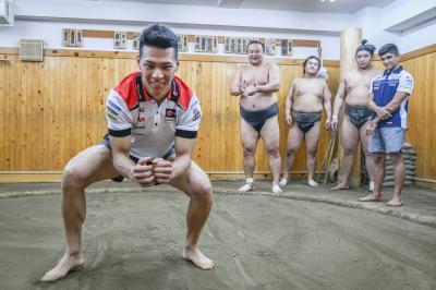 プレイベント~相撲部屋に入門体験