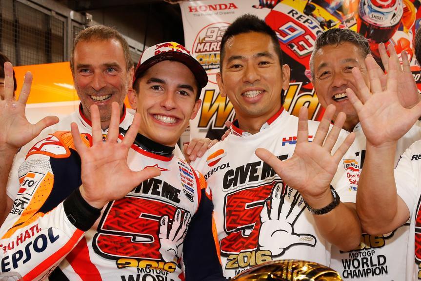 Takeo Yokoyama, Marc Marquez, Repsol Honda Team