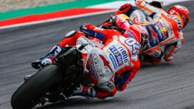 The two MotoGP™ Championship contenders talk about each other's styles and how they approach a race, both on and off the track