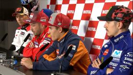 Marquez, Dovi, Viñales, Pedrosa, Rins and Nakagami answer your questions from social media