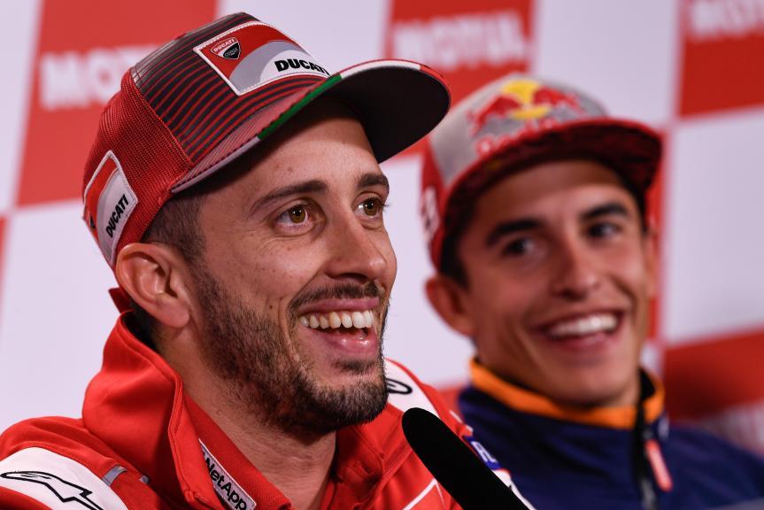 Andrea Dovizioso, Marc Marquez, Motul Grand Prix of Japan