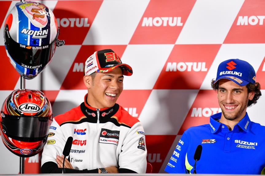 Takaaki Nakagami, Alex Rins, Motul Grand Prix of Japan