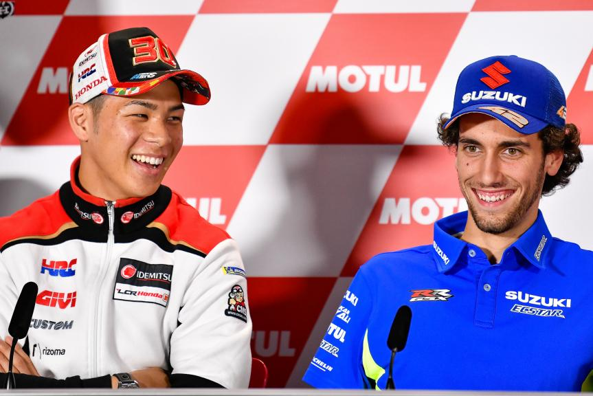 Takaaki Nakagami, Alex Rins, Motul Grand Prix of Japan