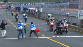 The opening Free Practice session for Moto2? at the Twin Ring Motegi