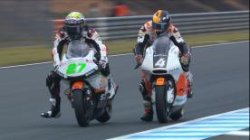 Watch the intermediate class during their second Free Practice session at the Twin Ring Motegi