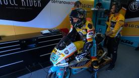 Watch the first Free Practice session of the 16th round of the Moto3? World Championship