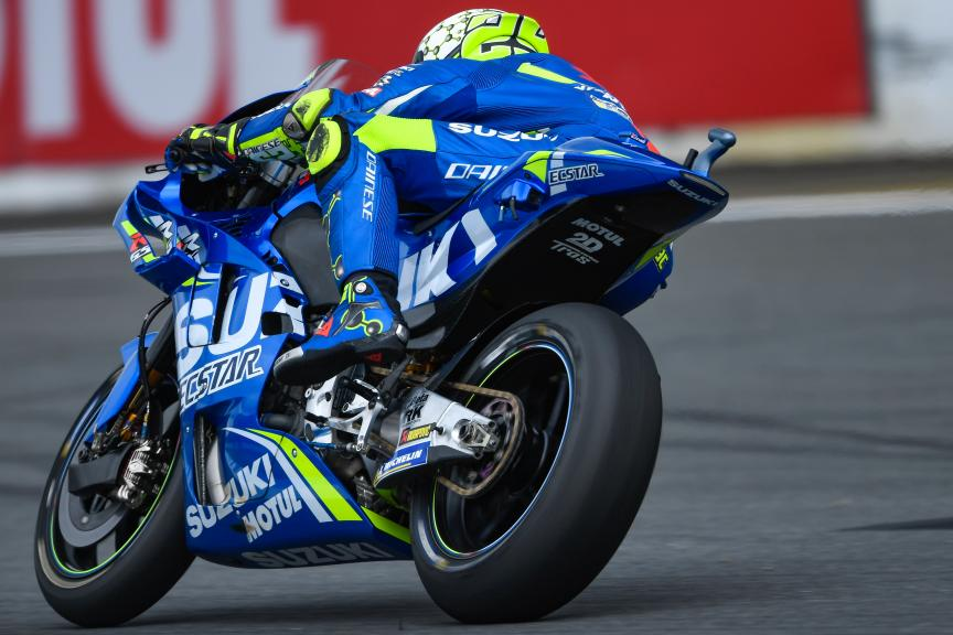 Andrea Iannone, Team Suzuki Ecstar, Motul Grand Prix of Japan