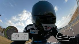 Jump on board to experience all of the excitement of riding a lap around the Japanese circuit, shot on the iconic action cameras