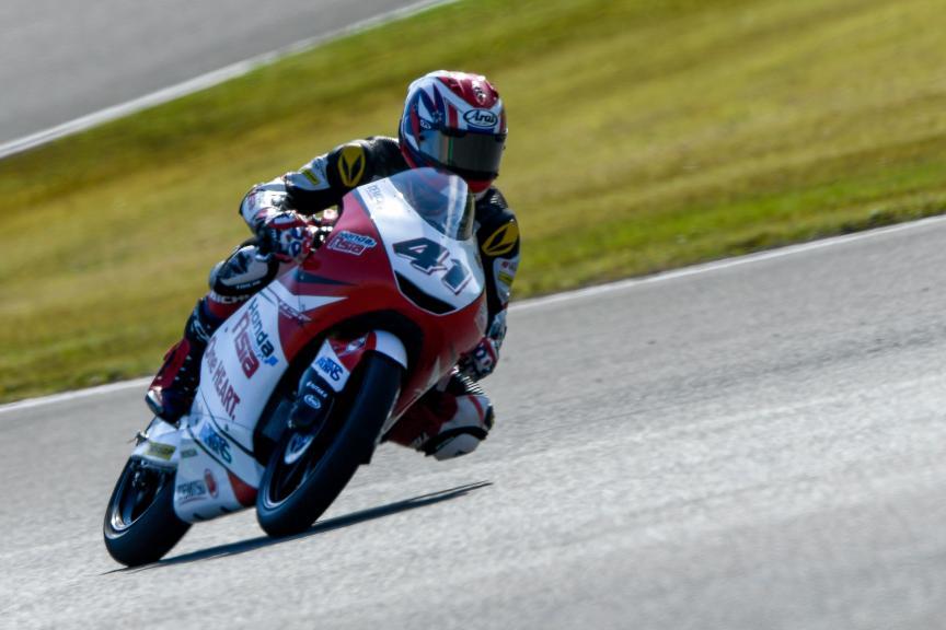Nakarin Atiratphuvapat, Honda Team Asia, Motul Grand Prix of Japan