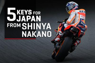 5 keys to the Motul GP of Japan... by Shinya Nakano