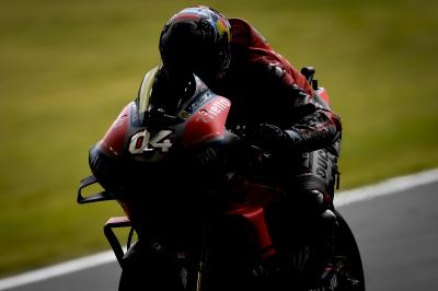 Out of the shadows: Dovizioso fastest on Friday