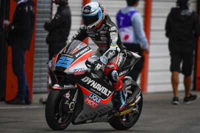 Schrötter tops rain-affected Moto2™ Friday morning session