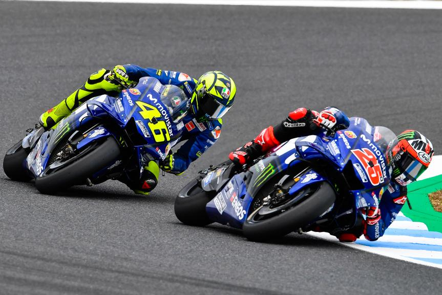 Maverick Viñales, Valentino Rossi, Movistar Yamaha MotoGP, Motul Grand Prix of Japan