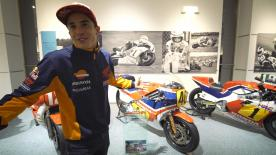 The Championship leader takes us on an exclusive tour of the Honda Collection Hall, looking at the story that led him to where he is today