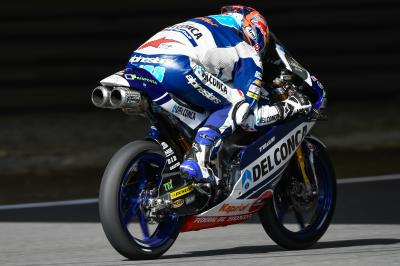 Martin heads Ramirez, Bezzecchi in Moto3™ FP3