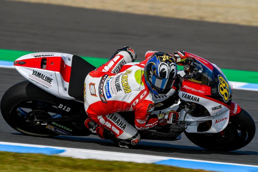 Katsuyuki Nagasuga, Yamalube Yamaha Factory Racing, Motul Grand Prix of Japan