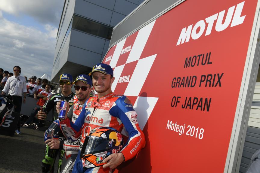 Andrea Dovizioso, Johann Zarco, Jack Miller, Motul Grand Prix of Japan
