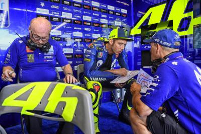 Rossi explains what he could have done differently in Q2