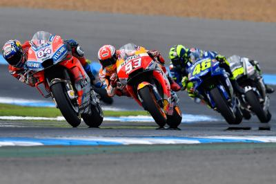 Riders predict a close encounter at the Japanese GP
