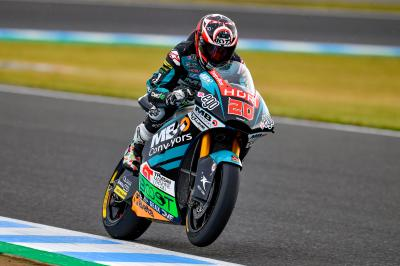 Quartararo quickest from Schrötter in FP3