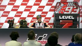 Join the 2018 MotoGP™ World Champion in his official press conference, talking about winning his title