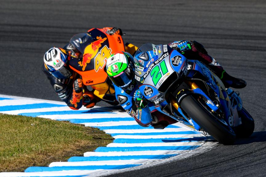 Franco Morbidelli, Pol Espargaro, Motul Grand Prix of Japan