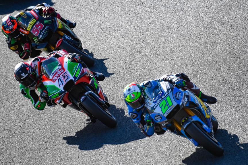 Franco Morbidelli, Scott Redding, Hafizh Syahrin, Motul Grand Prix of Japan