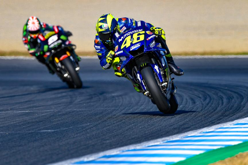 Valentino Rossi, Johann Zarco, Motul Grand Prix of Japan
