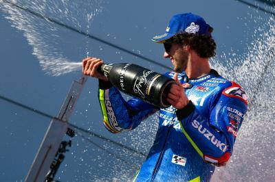 'Suzuki quiere ganar, estoy contento de ser parte de esto'