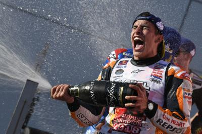 Magnificent 7: Marquez seals title with win in Motegi
