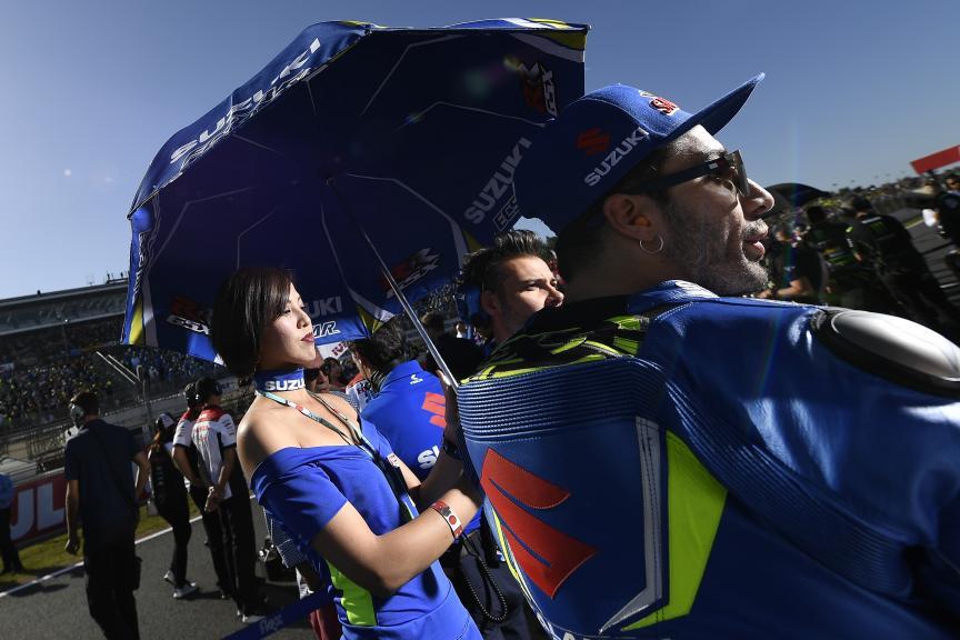 Andrea Iannone, Team Suzuki Ecstar, Motul Grand Prix of Japan