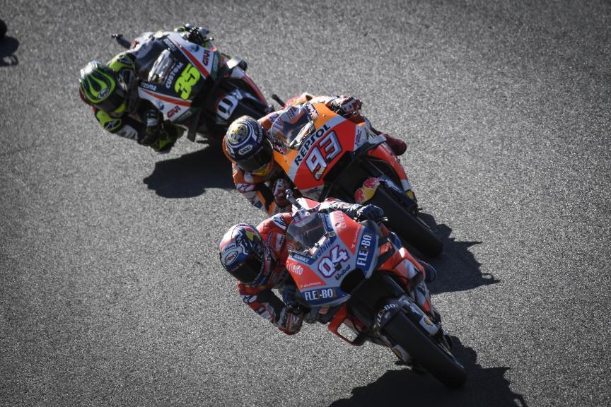 Andrea Dovizioso, Marc Marquez, Cal Crutchlow, Motul Grand Prix of Japan