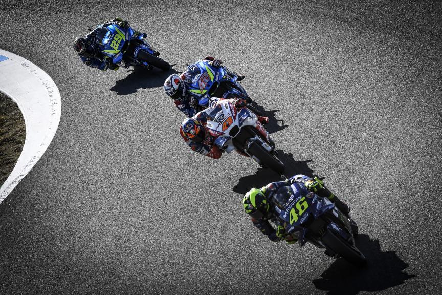 Valentino Rossi, Jack Miller, Alex Rins, Andrea Iannone, Motul Grand Prix of Japan