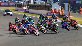 All the action from round 16 of the MotoGP? World Championship at the Twin Ring Motegi