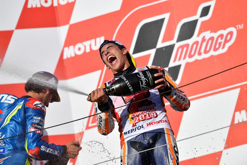 Marc Marquez, Repsol Honda Team, 2018 MotoGP World Champion