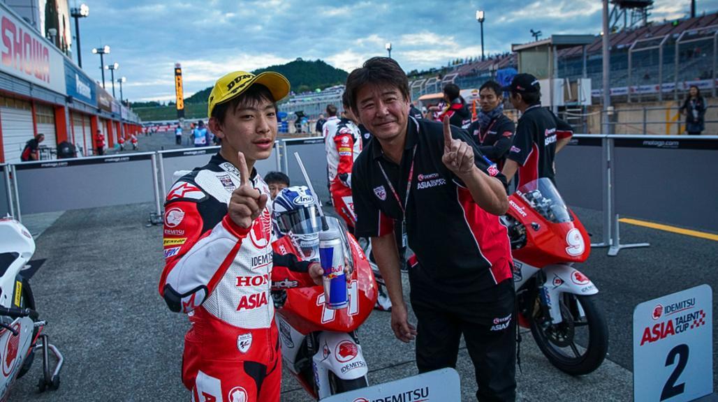 Takuma Matsuyama, Asia Talent Cup