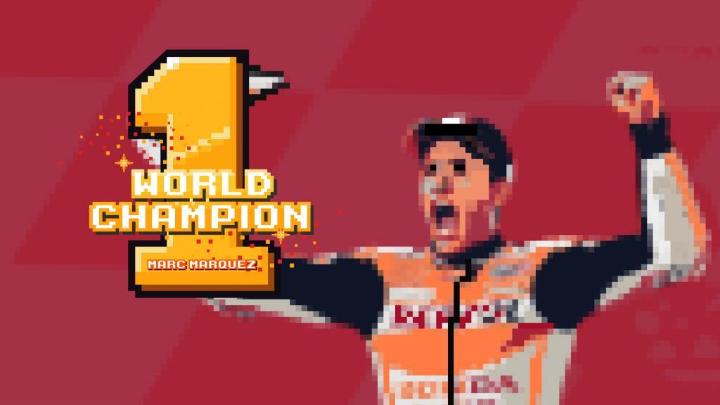 Marc Marquez, Repsol Honda Team, 2018 MotoGP World Champion