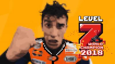 #Level7: Marquez holt mit dem Sieg in Motegi den Titel