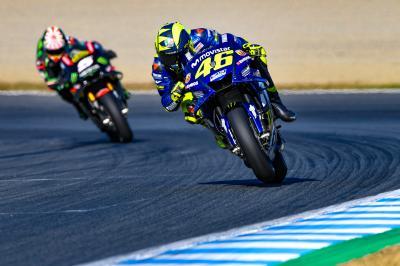 Rossi reabre la batalla por el subcampeonato
